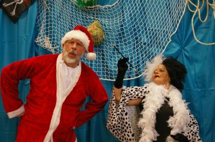 Père Noël et Cruella
